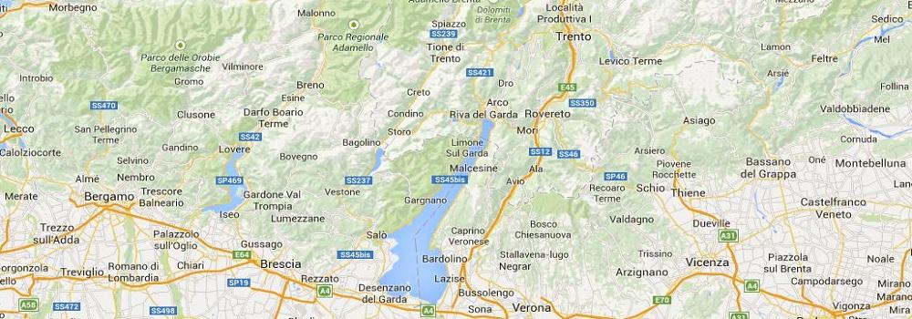mappa del gusto interattiva Google maps