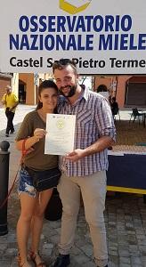premio miele millefiori azienda agricola Lancellotti Thomas